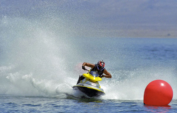 Jet ski races at Walker Lake, NV