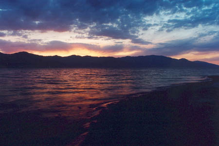 Twilight Embers, Walker Lake, NV